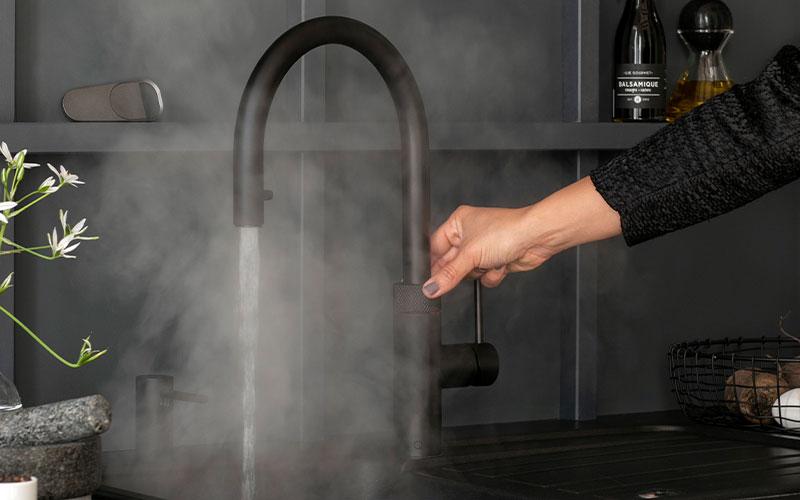 bamonde quooker installatie flex carbon kokend water